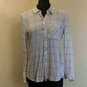 GAP Windowpane Button-Down Shirt